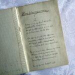 Handskrifað ljóð